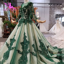 AIJINGYU Wedding Dress 2019 3D Buy Dubai Bridal Gowns