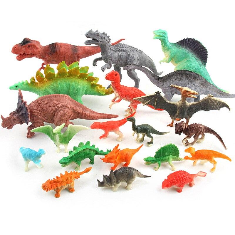 (8/12/20 հատ / լոտ) Dinosaur Toy Model Model Plastic - Խաղային արձանիկներ - Լուսանկար 1