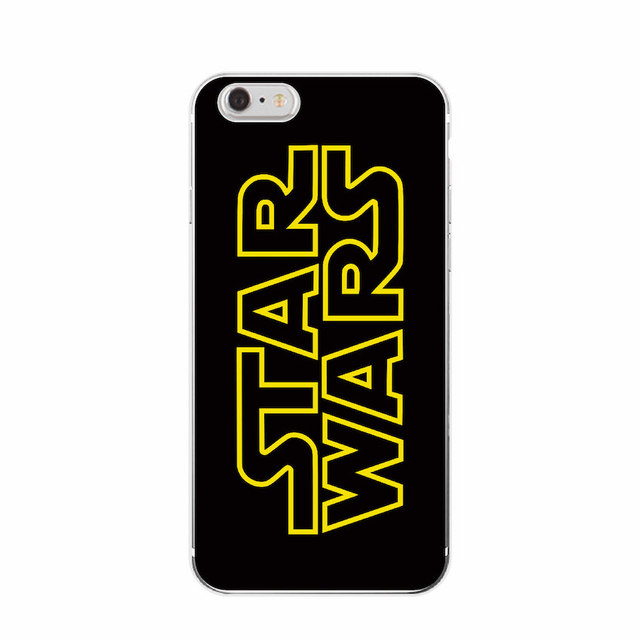 Star Wars Soft Phone Case For iPhone 7Plus 7 6Plus 6 S 5 S 4S SE 5C