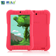 "iRULU Y3 7"" Tablet PC for Children Quad Core IPS Screen 1280*800 Dual Cameras Google Android 5.1 Lillipop OS 1GB/16GB ROM Wifi"