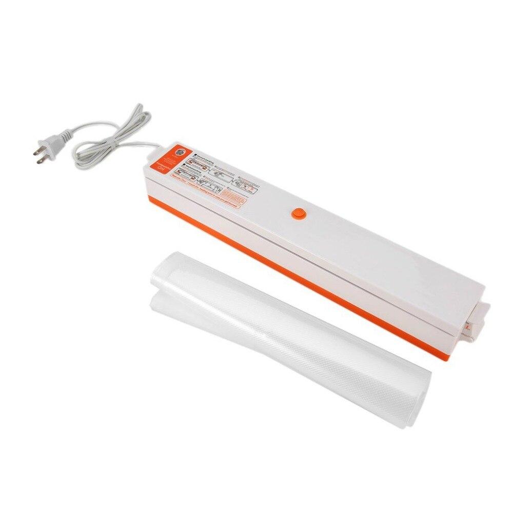Food Storage Of Household Home Electric Vacuum Sealer Packaging Machine Films Sealer Vacuum Packer Included 15 Pcs Bags