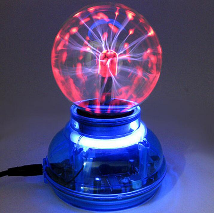 3inch magic usb car bola plasma ball lamp neon sphere negative ion generator interior light. Black Bedroom Furniture Sets. Home Design Ideas
