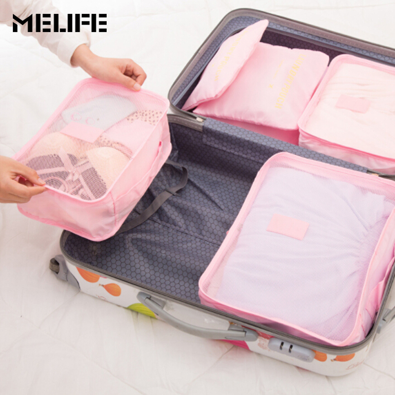 embalagem organizadores bolsa da bolsaagem Function 2 : Clotehes Tidy Organizer Packing Cubes Laundry Bag