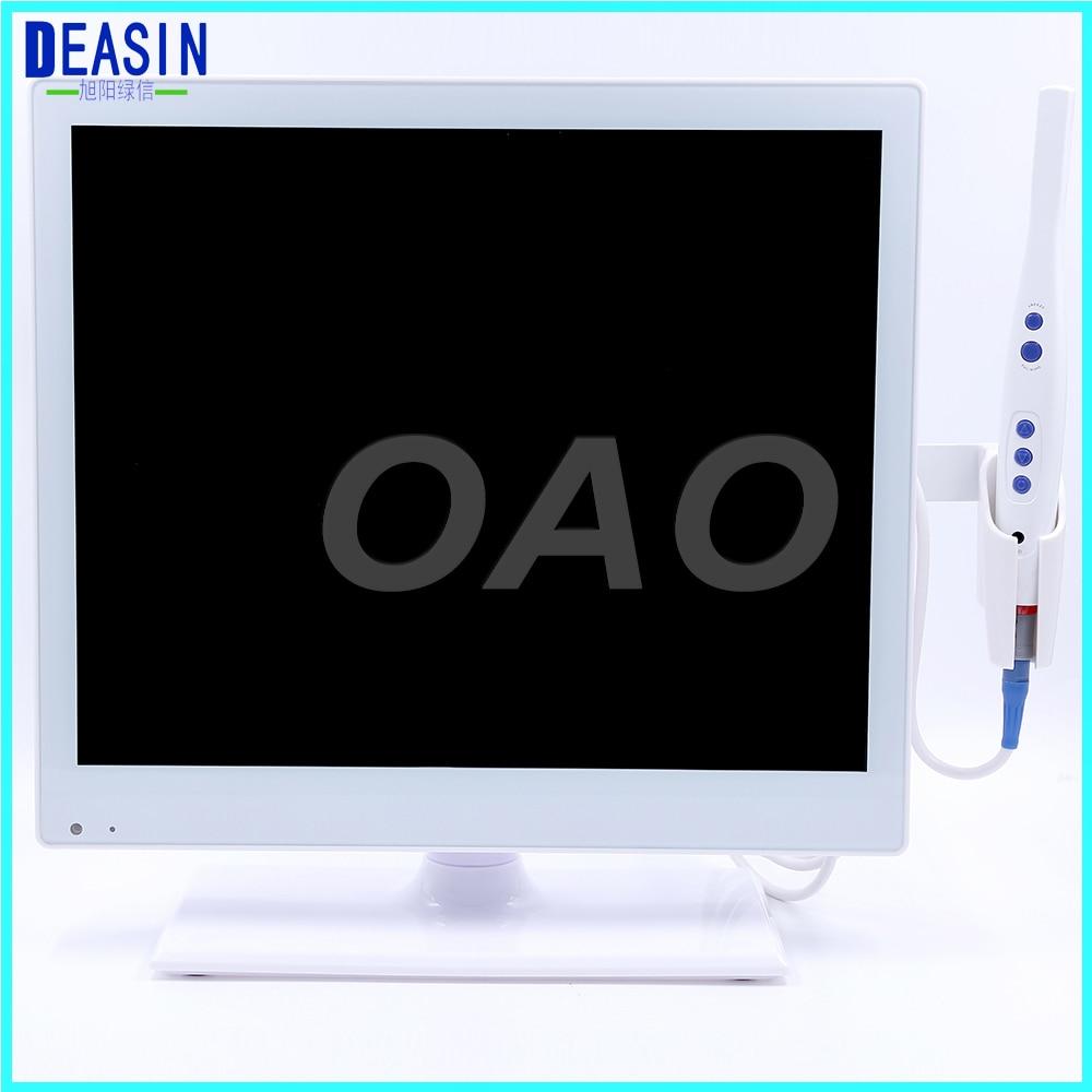 DEASIN 17 pouces moniteur intra-oral caméra orale avec moniteur USB caméra intra-orale équipement dentaire