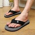 2016 chinelos de Verão Homens Casual Sandálias Flat, Bakham Lazer Flip Flops Macio, Sapatos EVA Massagem Praia Chinelo Homens tamanho 39-44 3 cores
