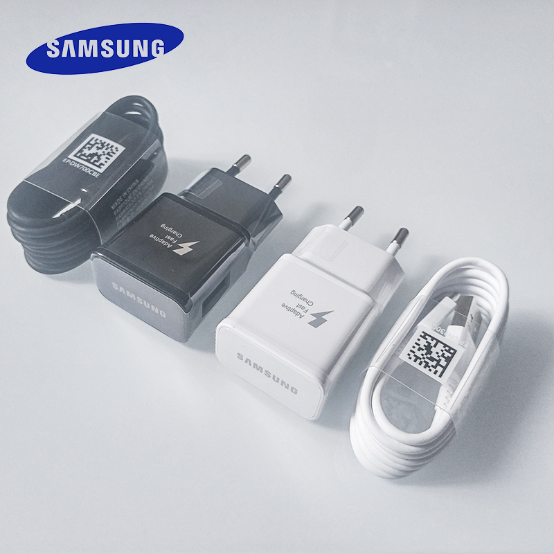 Samsung Adapter Fast-Charger Note-8 S9 Plus Galaxy 9v 1.67a C-Cable Quick For S10 S8