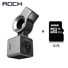 ROCA Ojo Inteligente Coche DVR Coche Cámara DVR Obtener 32 GB de Tarjeta SD Dash Cam Video Recorder G-sensor WDR Night Vision GPS Full HD 1080 P