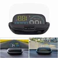 C600 Auto HUD Spiegel Auto Head Up Display Windschutzscheibe OBD2 Geschwindigkeit Projektor Sicherheit Alarm Wasser temp Überdrehzahl RPM Spannung
