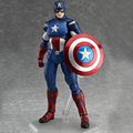 One piece Figma 226 216 The Avengers Figures Super Hero Toy Captain America and Thor Collectible Toy Action Figures