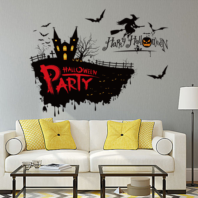 Witch fish vinyl wall decal
