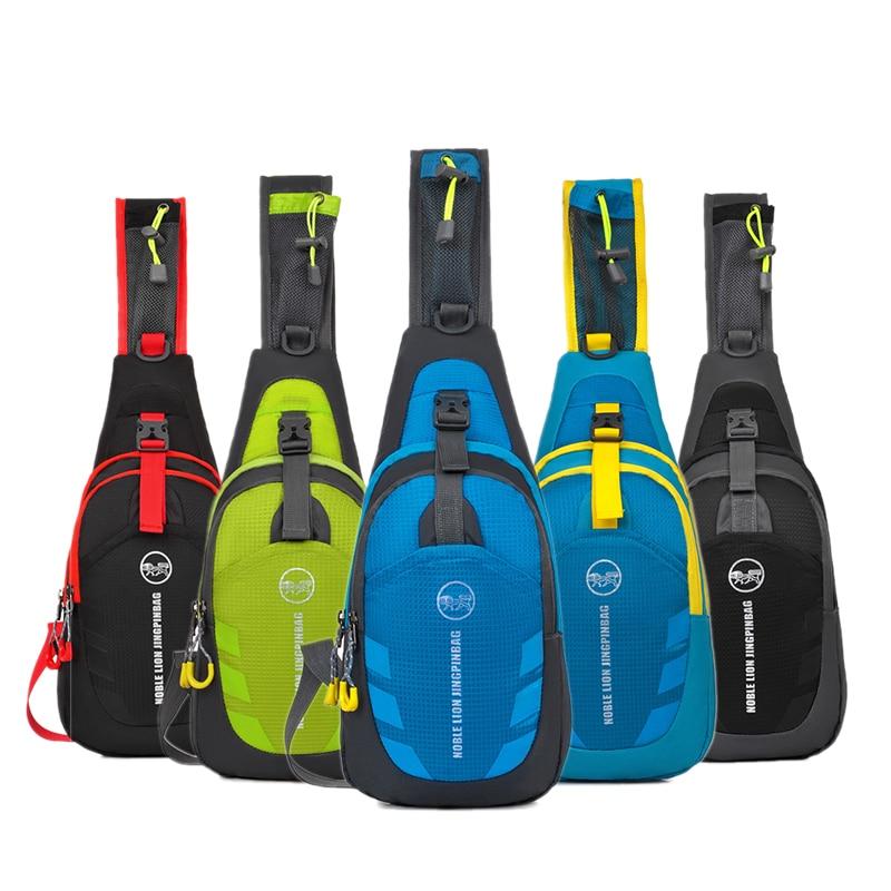 2017 New Motorcycle Waterproof Nylon Backpack Convenient Motorbike Chest Bag Backpack Camping Hiking Running Outdoor Sport Bag  Мешок