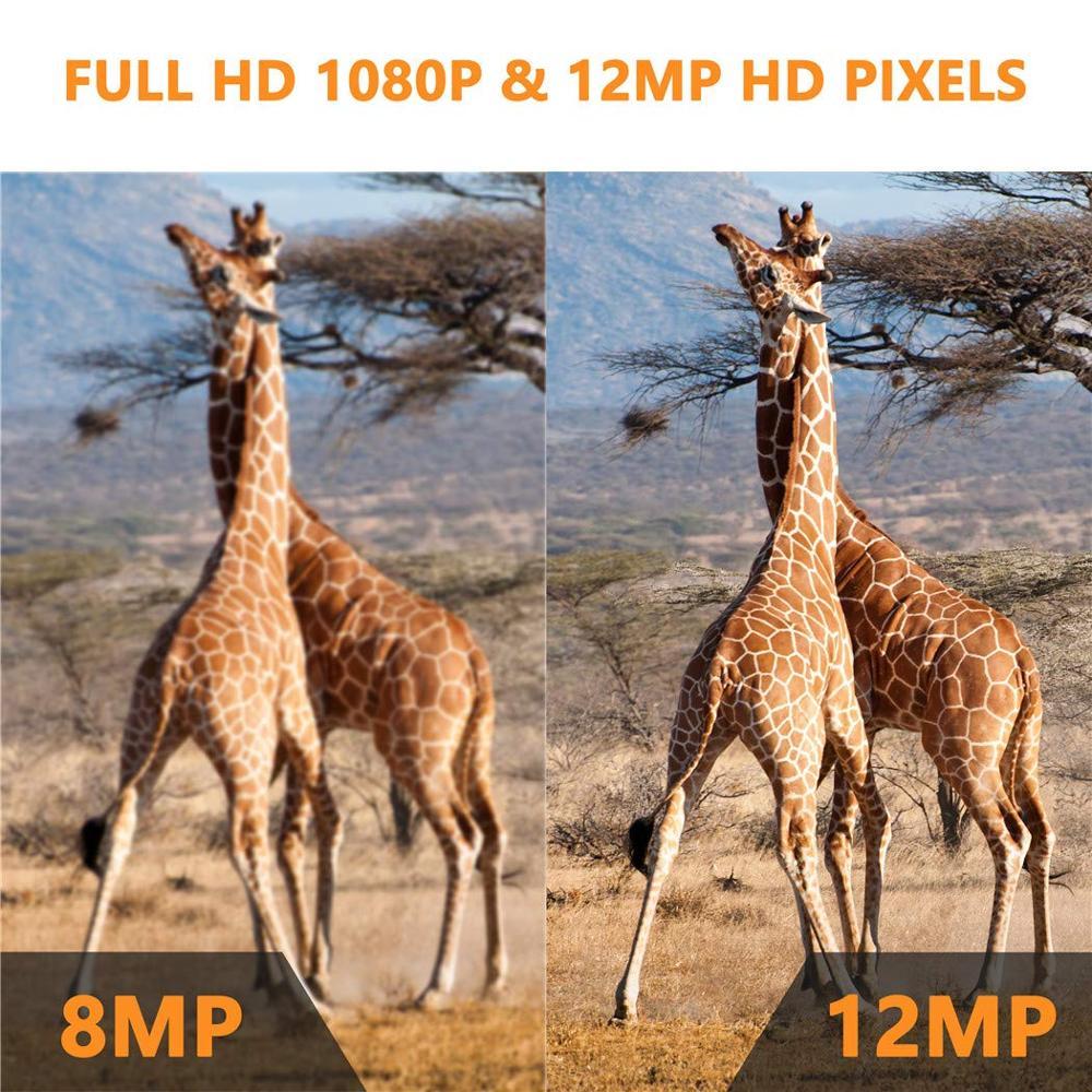Chasse Trail caméra étanche Vision nocturne caméra sauvage caméra forêt Animal Photo pièges Scout chasse caméra HC 800A - 4
