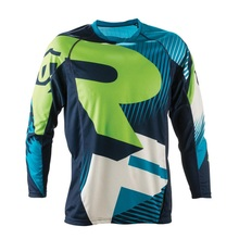 2017 Motocross Jersey NEW camisetas motociclista Mayhem Lite Blocker Black Dirt Bike MX black