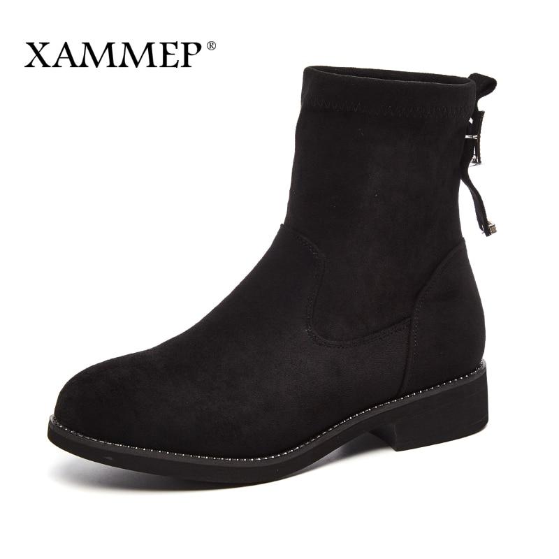 Caliente Calidad Las La Mujeres Rebaño Black Invierno De Becerro Alta Plataforma Con Gran Marca Felpa Botas Zapatos Tamaño Peluche Xammep PppfZrq