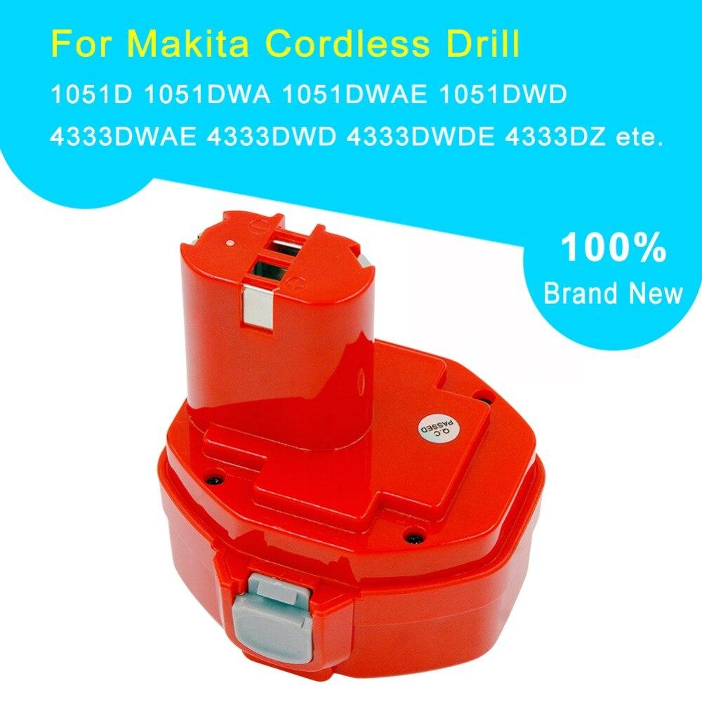 6935 FDWDEX 6337 DWDE Batterie 2x pour Makita BMR100 6339 DWDE ML140 6934FD