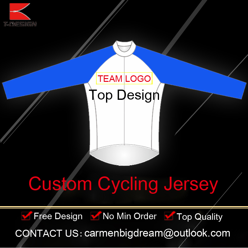 цены  2016 High Quality Custom Cycling Jersey Bike Wear Custom Winter Cycling Tops Long Sleeve Jersey For Man/Women Factory Price