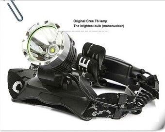 2017 <font><b>best</b></font> led ultra bright rechargeable aluminium bike light xml t6 led, bicycle helmet light 4000lm , rechargeable led headlamp
