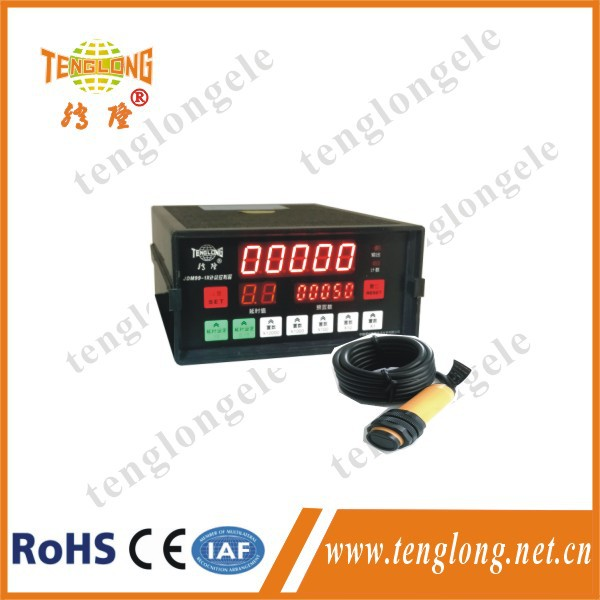 JDM99-1X  intelligent combined preset count and accumulative digital counter controller machine with photoelectric switch  цены