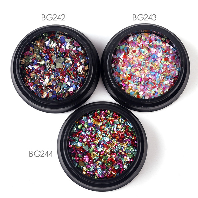 1Box  Multi Color Nail Art