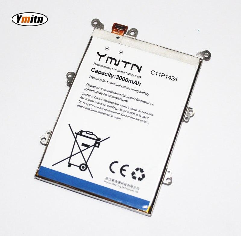 Nouveau Ymitn 3000 mAh Téléphone portable Batterie Li-ion Batterie Pour ASUS ZenFone 2 ZE551ML ZE550ML Z00ADA Z00ADB Avec armature De Fer C11P1424