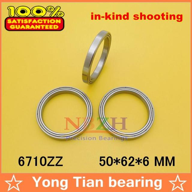 The high quality of ultra-thin deep groove ball bearings 6710ZZ 50*62*6 mm