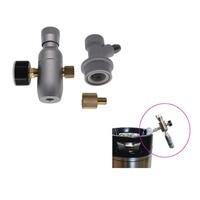 3/8 thread homebrew mini regulator Co2 Keg Charger kit with ball lock fitting, CO2 Regulator 150 PSI