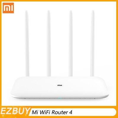 Routeur WiFi d'origine Xiao mi mi 4 répéteur WiFi 2.4G 5GHz 128 mo DDR3-1200 double bande double coeur 880MHz APP contrôle routeur sans fil