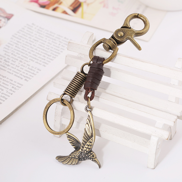 Fashion Retro Pendant Handcraft Knitted Leather Pendant Jewelry For Women Girls