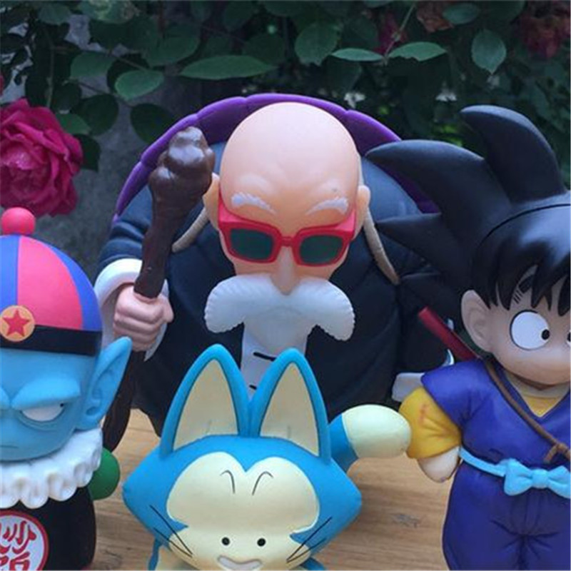 1pc/lot Dragon Ball 4 Styles Son Goku/Master Roshi/Pilaf/Puer Toys PVC Action Figure Tenkaichi 14cm Model Boy Gifts Children dragon ball anime master roshi kame sennin son goku boxed pvc action figure collection model dolls toys 2pcs lot