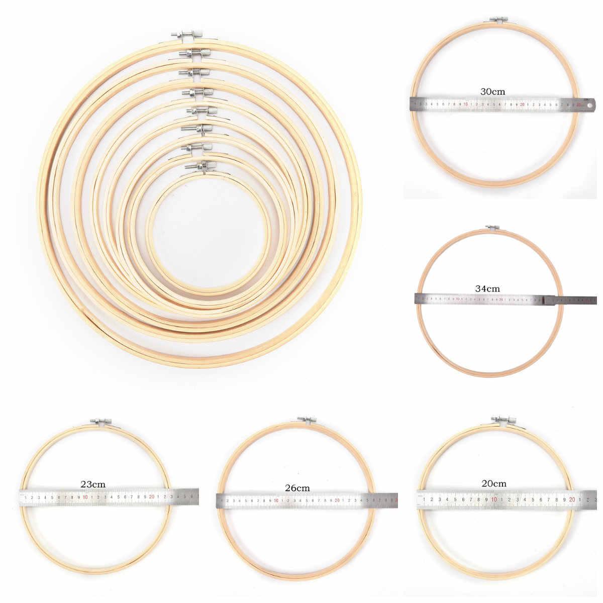 7-30 см пластик/деревянная рамка обод кольцо вышивка круглая машина бамбук для вышивки крестом diyбытовой Ремесло Швейные Инструменты