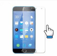 For Meizu M2 mini Tempered Glass 5.0inch 100% Unique Premium Display screen Protector Movie For Meizu M2 mini Cell Cellphone+Cleansing Package>