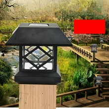 Buy large outdoor solar lights and get free shipping on aliexpress mholfb waterproof outdoor led solar lights fence wall gate street garden bulb aloadofball Image collections