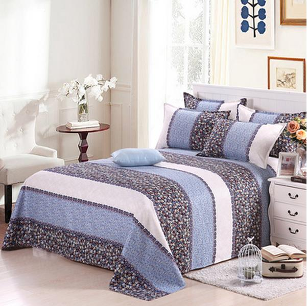 875  Free shipping 3pcs Double bed sheet mill wool cotton just a student dormitory pillowcase