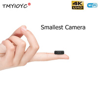 HD 4K WiFi Mini Camera Smallest 1080P XW Mini Camcorder IR Night Vision Micro Cam Motion Detection DVR Home Car Camera Phone App