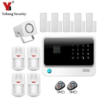 YobangSecurity G90B Android IOS WIFI Inalámbrica GSM Alarma Antirrobo PIR Sensor de Alarma Recordatorio Imán de Sensor de Puerta con Cierre