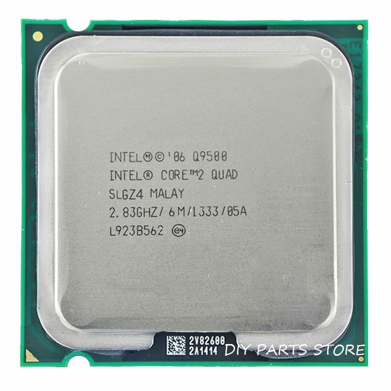 Galleria fotografica <font><b>INTEL</b></font> Core 2 QUDA Q9500 CPU Processeur 2.8 Ghz/6 M/1333 GHz Socket 775