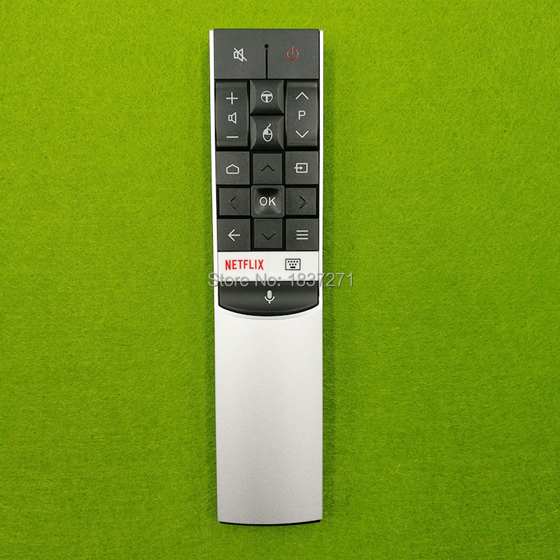 original voice remote control for tcl U49/75/55/65C7006 U65/60/49/43/55P6046 U65/55X9006 65/50/55DP660 RC602S JUR1 UHD 4K lcd tv bsc29 0185s 37 fcc002 fbb1a transformer for tcl tv