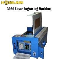 HONGJUN ¡300*500mm mejor calidad 50 w CO2 barato Mini cortador láser de precio 3050