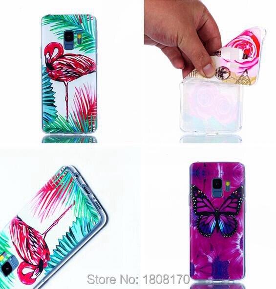 C-Ku Butterfly Flower Soft TPU Case For Samsung Galaxy S9 S8 Plus A8 2018 J2 J5 J7 Prime 2017 J3 2016 A3 A5 S5 Skin Cover 20pcs