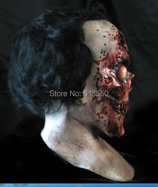2014 High Quality Devil Horror Halloween Mask New Ghost Zombie Scary Mask For Adult image