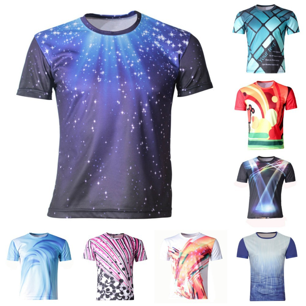 Design t shirt galaxy - Girl Boys Clothes New 2017 Summer Boy T Shirts Children 3d Printing T Shirt Galaxy Design Tops Boy S T Shirt For Kids Baby Tees In T Shirts From Mother
