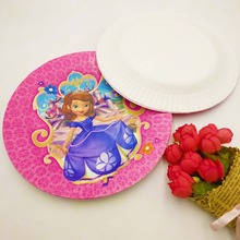 10pcs Sofia The First Birthday Party Supplies Paper Plates Disposable Tableware Birthday Party Favors Decoration Plate dishes & Popular Sofia First Crown-Buy Cheap Sofia First Crown lots from ...