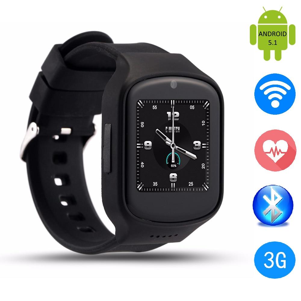 Z80 3G Smart Watch Android 5 1 OS font b Smartwatch b font SIM Card Heart