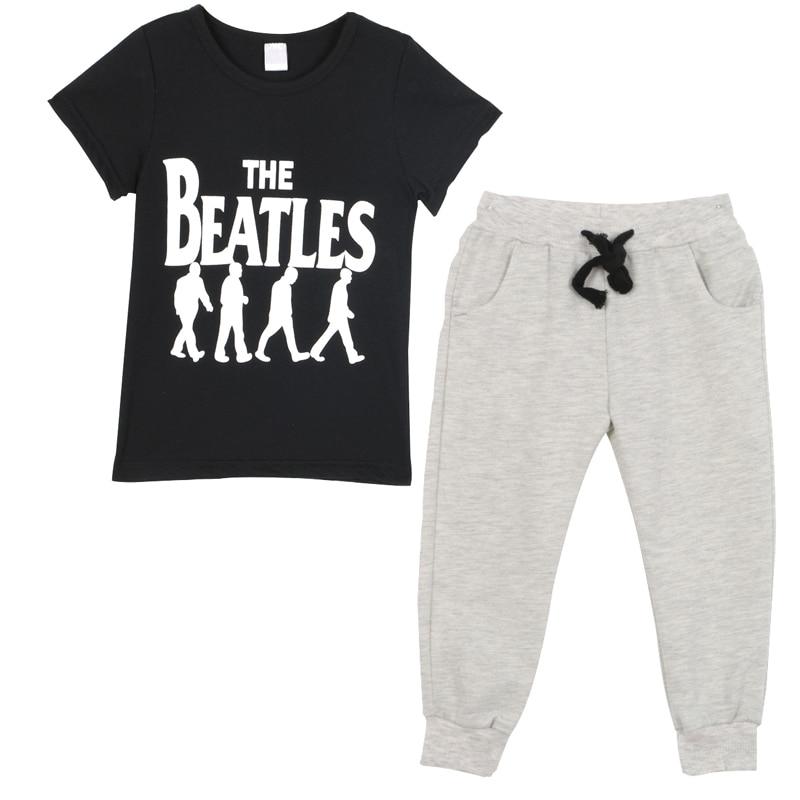 COCKCON 2PCS Baby Boy Clothing Sets Summer Pants Clothes