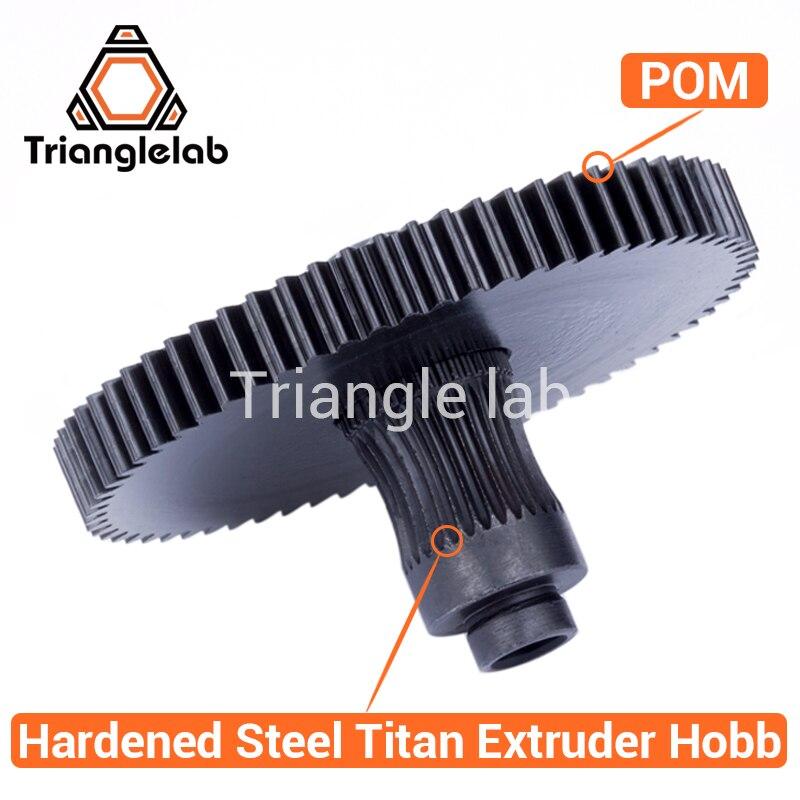 Trianglelab 3d printer Titan Extruder new metal gear Hobb (Hardened Steel) free shipping reprap mk8 i3