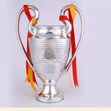 Большой Размеры 77 см трофей Лиги чемпионов Европейский 1:1 чашки Поклонники Сувениры трофей футбольный сувенир Коллекционные вещи R1555