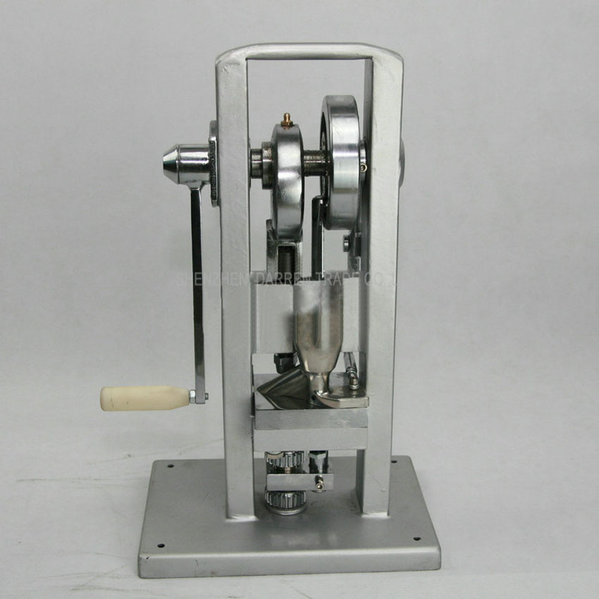 1PC TDP-M hand operated tablet press machine , manual tablet press machine 1pc hand operated oil press machine for family