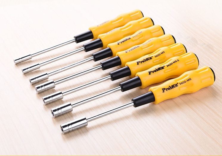 1PCS 19400-M3/M4/M4.5/M6 Hex Multi-purpose Screwdriver Opening <font><b>Tool</b></font> Repair Non-Magnetic Long Hex For Electric Screwdriver Bits image