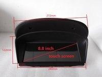 8 Inch HD 1080P Car GPS Navigation BMWM5 5er E60 E61 E63 E64 2003 2010 BT