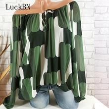 Ink Striped Print Blouse 2019 Elegant Office Ladies Long Sleeve Chiffon Fashion Women Shirt Plus Size Blusas 5XL